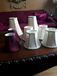 eight white-and-pink lampshades St. John's, A1E 1V6