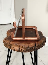 Custom copper iPad stands. Perfect for the kitchen or for watching movies while soaking in the tub Whitby, L1M 2M7