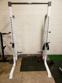 Squat rack and pull ups or best offer