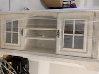 white and gray wooden cabinet Las Vegas, 89129