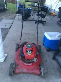 Red and black Craftsman push mower Uniontown, 15401
