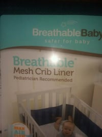 Brand new breathable mesh crib liner Providence, 02904
