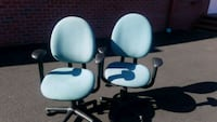 TURQUOISE DESK CHAIRS (($25 EACH)) Bel Air, 21014