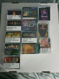 Star trek complete base sets (cards) $15 ea set Brampton, L6Y 0E9