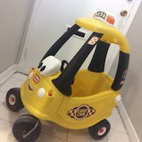 Little Tikes cozy cab taxi great condition Toronto, M2R 2C4