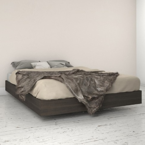 NEW IN BOX Double Sized Platform Bed in Solid Wood