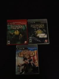 Bioshock collection 1,2,and 3 for ps3