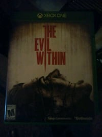 The Evil within xbox one game Tulsa, 74126