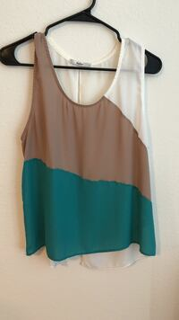 Open back tank top size large  Orlando, 32826