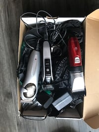 black and gray hair clipper set Vancouver, V5K 1Z8