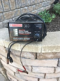 Motomaster battery charger, works great. 2 and 10 amp options Clarington, L1E 3K2
