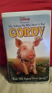 Gordy VHS Movie Wilmington, 28411
