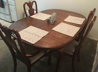 Used, stains on all chairs & table top Tustin, 92780