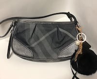 black and gray leather crossbody bag Oakland, 94601
