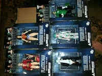 six assorted DC character action figures Sterling, 20166