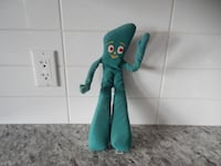 1983 Stuffed Gumby, His hands are posable, please Morinville
