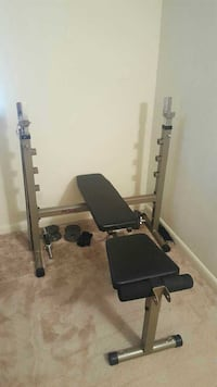 Letgo Fold Away Weight Bench Press In Woodbine Tn