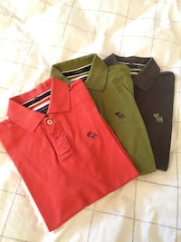 Abercrombie & Fitch polos small Toronto, M3A 2Z3