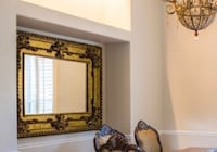 Over sized mirror. Original price $1500 ( 52 inches wide and 71 inches hight)  Ashburn, 20148