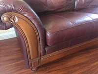 Leather Couch $300 obo Henderson, 89052