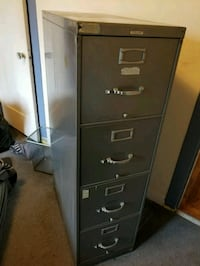 black metal 4-drawer filing cabinet Berkeley, 94710