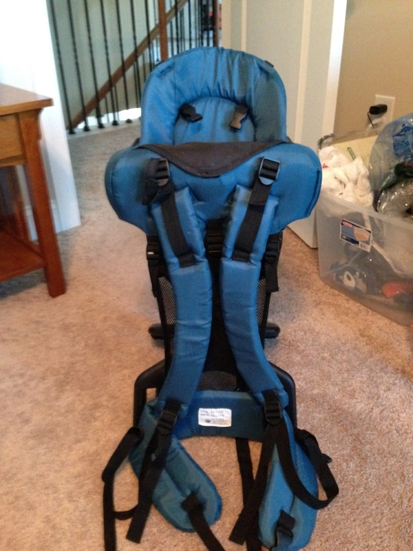 Evenflo Trailtech Backpack Hiking Baby Carrier Blue Model 095650