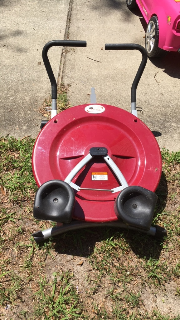 red and black AB circle pro, used for sale  Virginia Beach