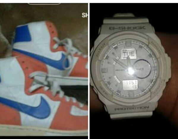 aa2d96229ab6 Used retro white-blue-pink air jordan 1 for sale in Manila - letgo