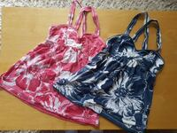 Hollister summer tanks.  Blue and pink Edmonton, T5Y 2P2
