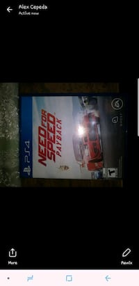 Sony PS4 Need for Speed Rivals game case Reading, 19611
