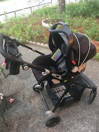 Baby's black and gray stroller Toronto, M6N 2H4