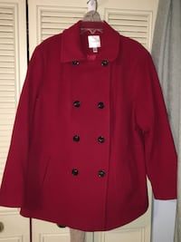 Women's size 2X Croft and Barrow wool coat. Runs on the bigger side but very comfortable.   Greenwich, 08027