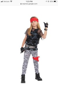 Boys 80's Rock Costume (size: Large) Round Rock, 78664