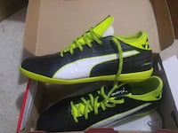 pair of black-and-green PUMA soccer Aurora, L4G 2B8