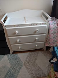 Naples 3 drawer dresser-changer Toronto, M3H
