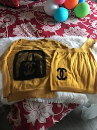 Yellow chanel sweatshirt Surrey, V3R