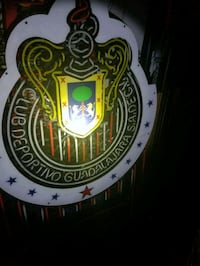 Chivas de Guadalajara neon light...beer neon Norwalk, 90650