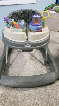 Baby activity center and walker