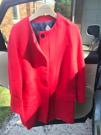 Zara red jacket Niles