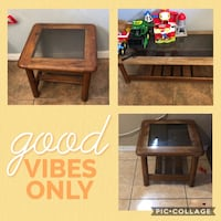 All 3 tables  pick up  need a Lil varnish or stain but great condition solid Orlando, 32811