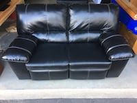 Dual Reclining Love Seat: sell to best offer by sat 10/12