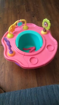 Good Condition Pink Bumbo Baby Seat With Tray Other