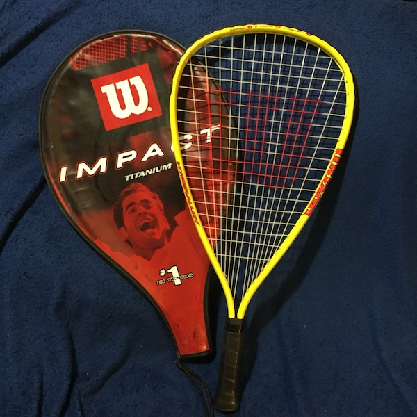 Used Wilson Express Hyper Alloy Impact Wilson Tennis Racket For Sale
