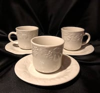 Gibson cup and saucer set