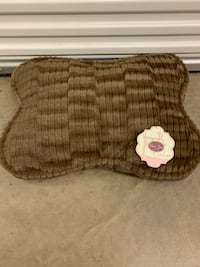 Plush Brown Dog Bed w/No Slip Bottom (NEW) 485 mi