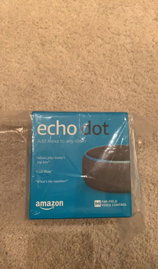 New Echo Dot (Generation 3) 74d0bc01-5be0-4688-9857-2c004ee19c07