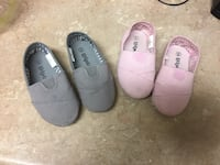 two pairs of white and pink flats New Carrollton, 20784