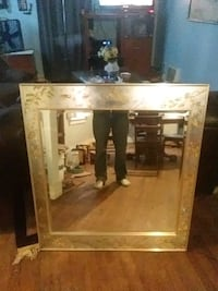 Hand painted large mirror Parchment, 49004