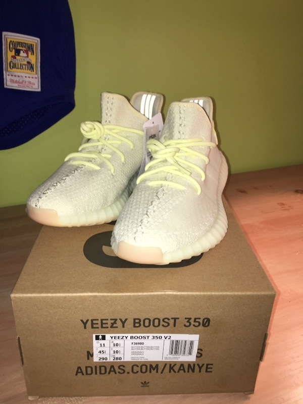 1822adf1b08b9 Used Deadstock Butter Yeezys Size 11 350 v2 for sale in Whitby - letgo