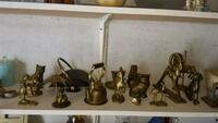 assorted brass-colored figurine lot Deseronto, K0K 1X0